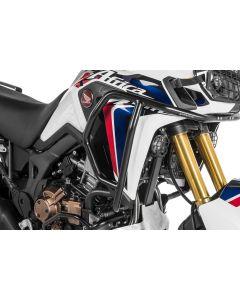 Arceau de protection en inox noir, pour Honda CRF1000L Africa Twin