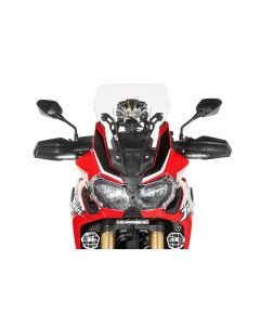 Windscreen, M, transparent, for Honda CRF1000L Africa Twin/ CRF1000L Adventure Sports
