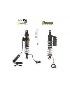 KIT CHÂSSIS Touratech Suspension Plug & Travel Abaissement -25mm  pour BMW R1200GS Adventure 2014 - 2016