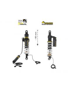 KIT CHÂSSIS Touratech Suspension Plug & Travel Abaissement -40mm  pour BMW R1200GS/R1250GS Adventure à partir de 2017