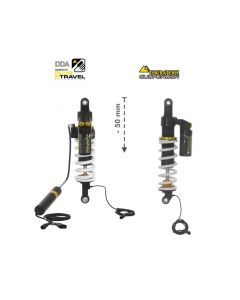 KIT CHÂSSIS Touratech Suspension Plug & Travel Abaissement -50mm  pour BMW R1200GS/R1250GS à partir de 2017